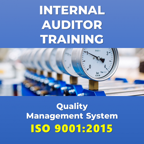 Internal Auditor Training ISO 9001:2015