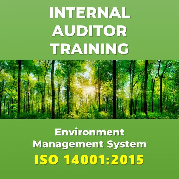 Internal Auditor Training ISO 14001:2015